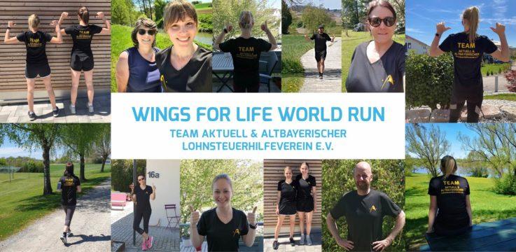 Wings for Life World Run: Gemeinsam laufen für das Spendenziel!